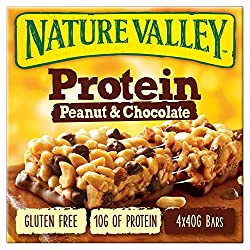Nature Valley Protein Peanut Butter & Chocolate Cereal Bars 4 x 40 g