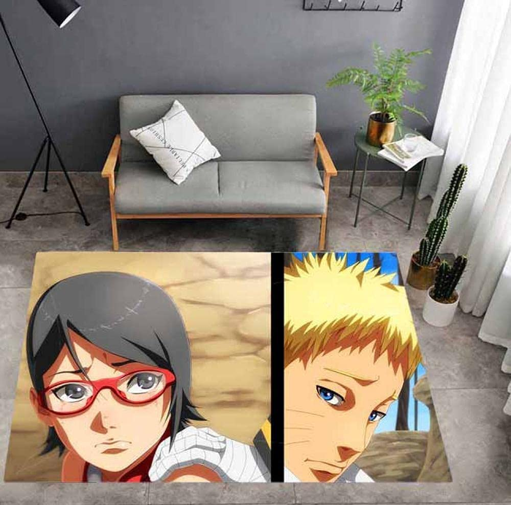 Naruto Rug Anime Area Boy Bedroom Table Decoration Game Popular products Non- Be super welcome