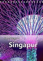 Unterwegs in Singapur (Tischkalender 2022 DIN A5 hoch): Ein Stadtstaat der Superlative in Suedostasien. (Planer, 14 Seiten )