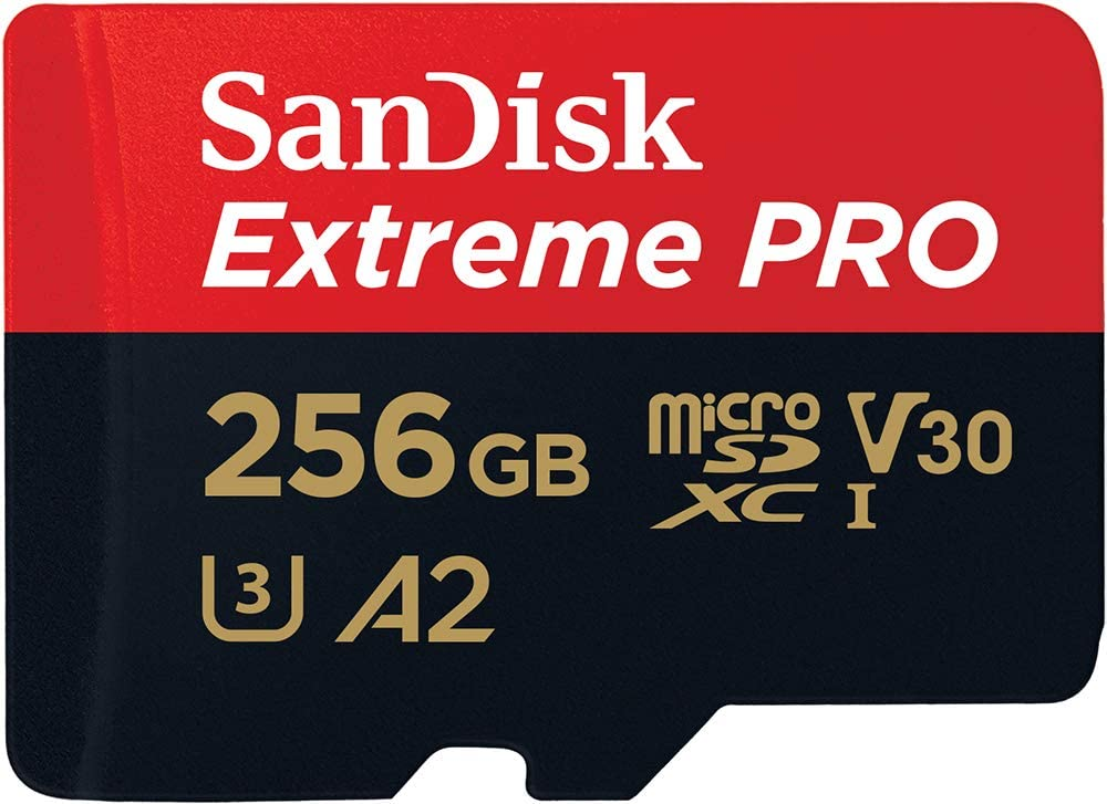 sandisk extreme pro micro sd card for 4k video