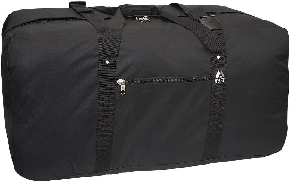 Everest Cargo Duffel - Medium, Black, One Size,3618-BK