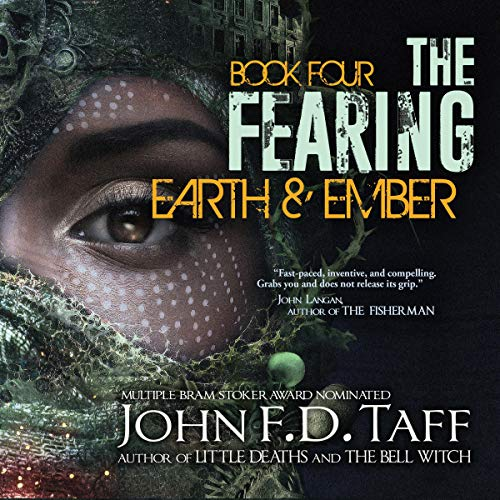 Earth and Ember audiobook cover art