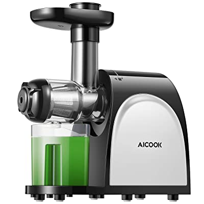 Juicer Machines, Aicook Slow Masticating Juicer...