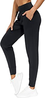 THE GYM PEOPLE Women's Joggers Pants Lightweight Athletic Leggings Tapered Lounge Pants for Workout, Yoga, Running