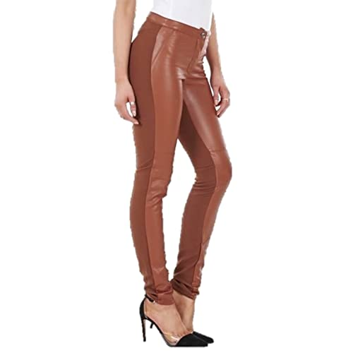 b62888047a96b Ex H&M Ladies Leather Look & Cloth Leggings Womens Wet Look Trousers Pants