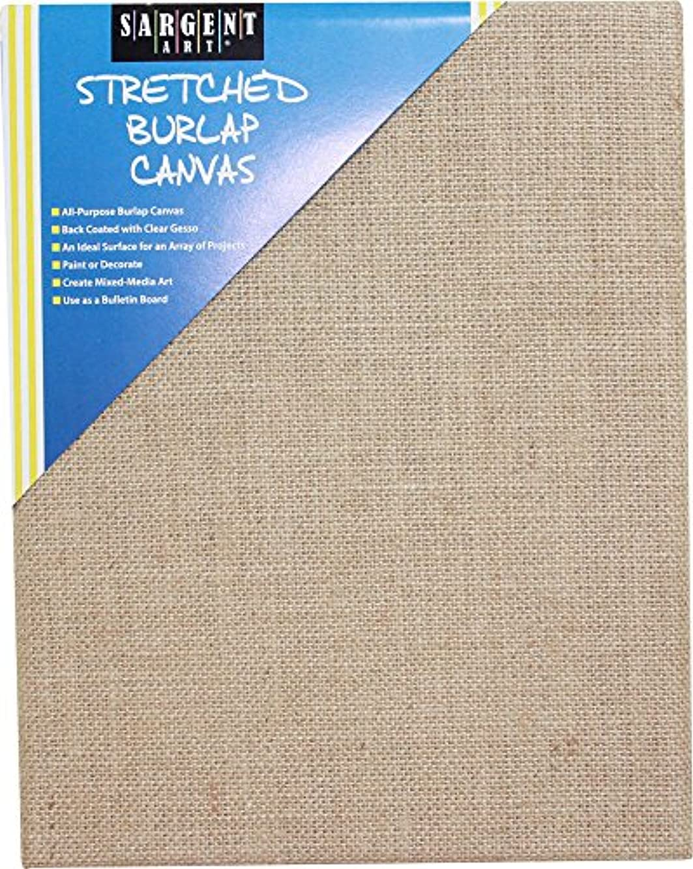 Sargent Art 90-2026 Stretched Burlap Canvas, 8 x 10