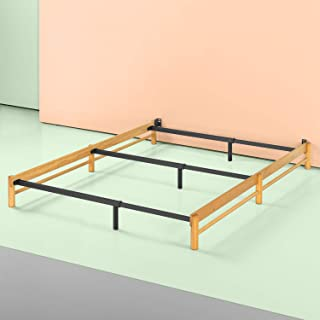 Zinus Newport Adjustable Wood Compack Bed Frame, Full to King