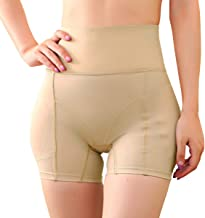Defitshape Women's Butt Lifter Shapewear Panties Padded High Waist Hip Enhancer Shaper Panty