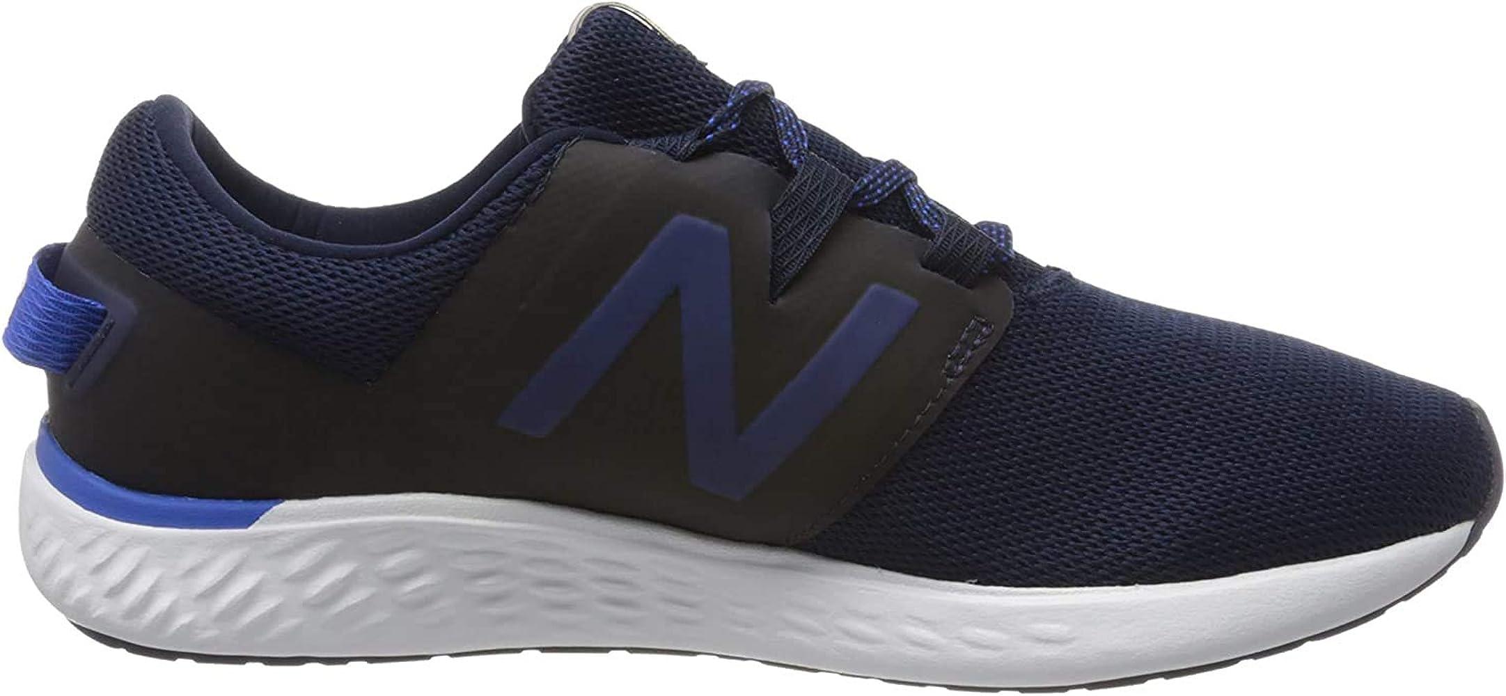 Amazon.com | New Balance Men's Running Shoes, Blue Navy Navy, 47.5 ...