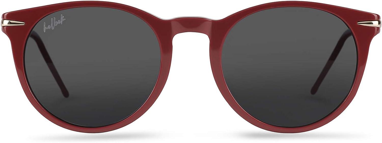 HELBEK NORA | Gafas de Sol para Mujer. Materiales y Acabados de Máxima Calidad - Protección UV400 + Lentes Polarizadas.