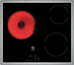 Balay 3EB714XR - Placa de cocina vitrocerámica, marco de