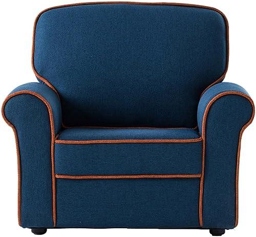 lo último ALUK- small small small stool Mini Sofá para Niños Asiento Moderno y Simple Color de la Silla de Lectura de Color Caramelo Muy cómodo y Ligero L64cm  W54cm  H55cm  cómodo