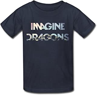TBTJ Imagine Dragons Night Visions T-Shirt for Kids 6-16 Years Old