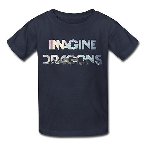 fc0a27de1da New TBTJ TBTJ Imagine Dragons Night Visions T-Shirt for Kids 6-16 Years