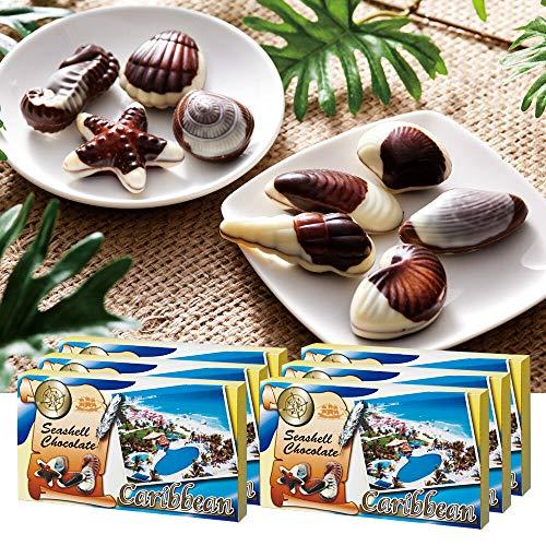 カリビアン シーシェル チョコレート 6箱セット 【メキシコ 輸入食品 スイーツ】