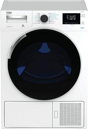 Beko DH10444PX1W Autonome Charge supérieure 10kg A++ Blanc sèche-linge - Sèche-linge (Autonome, Charge avant, Pompe à...