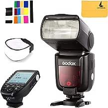 Godox TT685F HSS 2.4G TTL GN60 Camera Flash Speedlite High-Speed Sync Compatible for Fujifilm Camera X-Pro2 X-T20 X-T1 X-T2 X-Pro1 X100F,Godox XPro-F Wireless High Speed Sync 1/8000s Flash Trigger