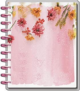$39 » Sponsored Ad - The Happy Planner Big Sized 18 Month Planner - Pressed Florals Theme - July 2021-December 2022 - Vertical L...