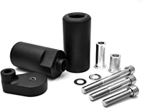 Radracing YZF R6 Frame Sliders Crash Protectors Kit for YZF-R6 2008 2009 2010 2011 2012 2013 2014 2015 2016 Extended Delrin Black