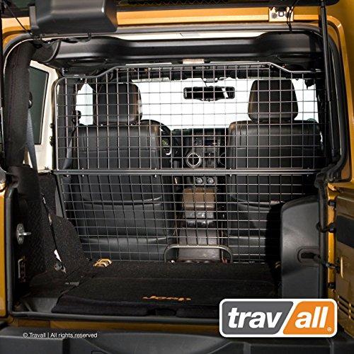 Travall® Guard Hundegitter TDG1373 - Maßgeschneidertes Trenngitter in Original Qualität