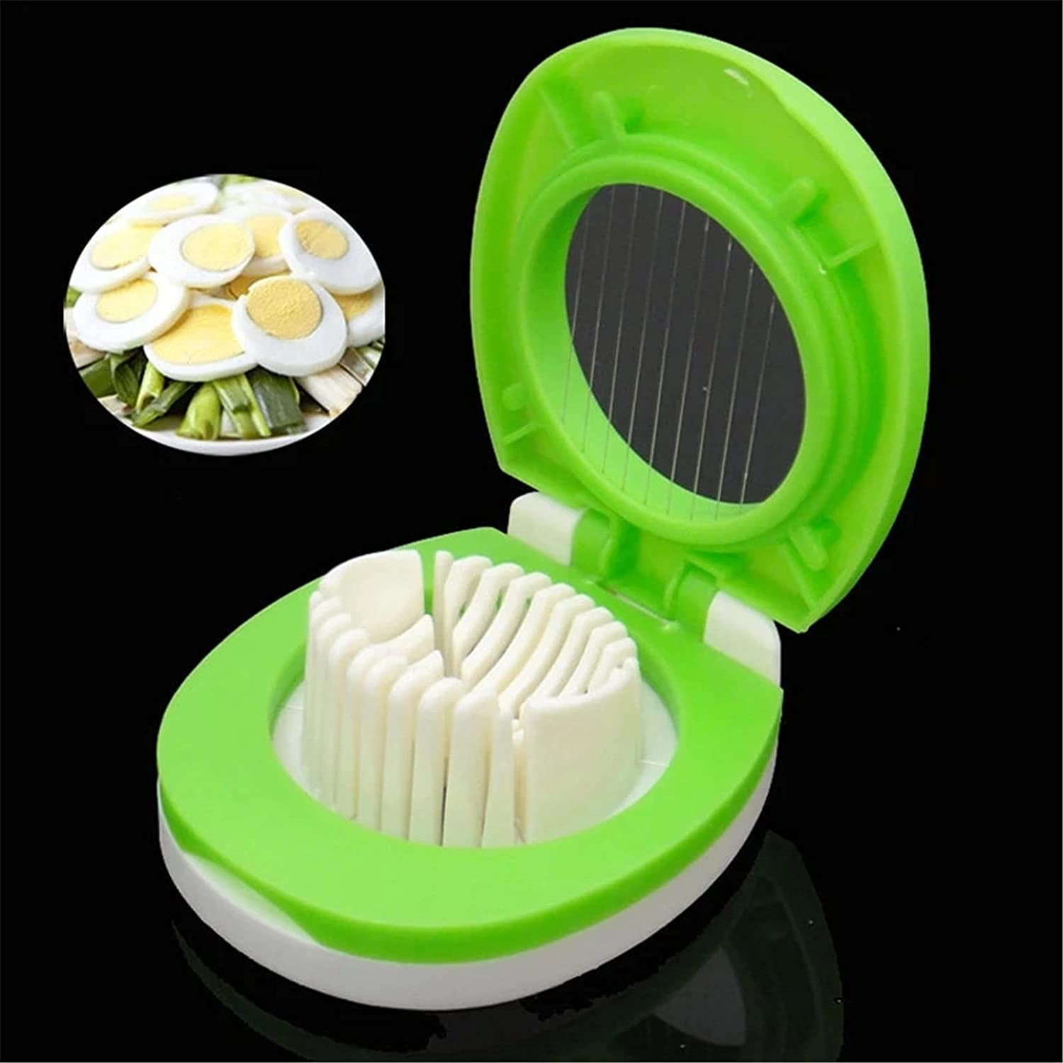 QERNTPEY Egg Slicer Max 54% OFF Multifunction Slicers Raleigh Mall Div Cutter Section