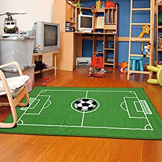 Furnish my Place All Stars Soccer Ground Kids Rug, 39