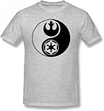 Star Wars Yin Yang Customizable Personalized Men's T-Shirt Tee
