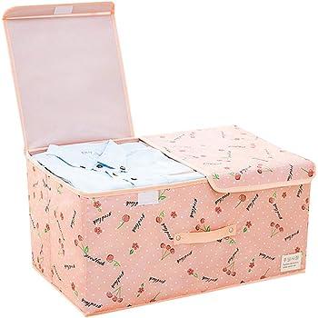 Hpera Cajas de Carton almacenaje Cajas de almacenaje Decorativas Carton Ropa Caja de Almacenamiento Caja de almacenaje Caja de Almacenamiento Plegable 1,50 * 30 * 25cm: Amazon.es: Hogar