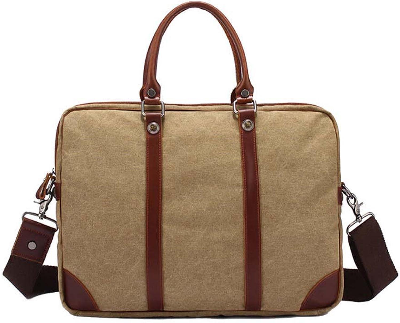 Canvas Vintage Satchel Computer Case Bag Shoulder Messenger Bag Crossbody Bag