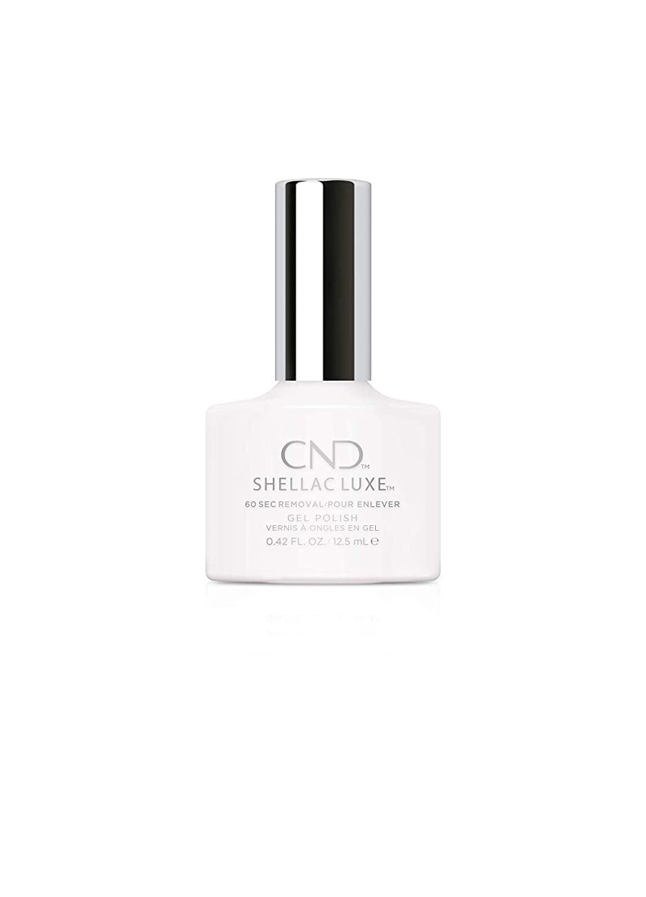 荒れ地句最大のCND Shellac Luxe - Cream Puff - 12.5 ml / 0.42 oz
