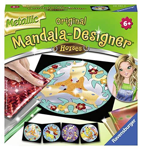 Ravensburger 29761 - Metallic Mandala-Designer Horses