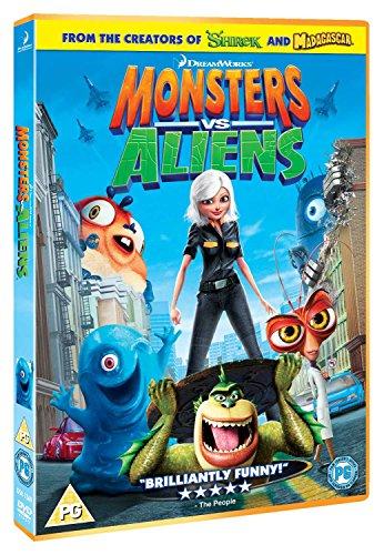 Monsters Vs Aliens [Edizione: Regno Unito] [Reino Unido] [DVD]