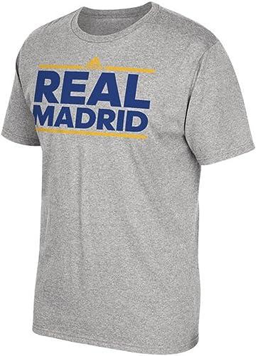 Adidas Real Madrid Dassler Global gris T-Shirt