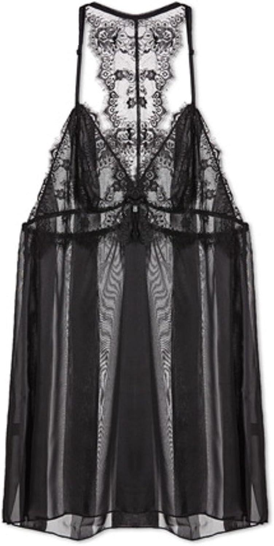 HFDSTRH GHRHA Lady Sexy Thin Pajamas Sling Nightdress