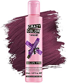 Crazy Color Hair Dye - Vegan and Cruelty-Free Semi Permanent Hair Color - Temporary Dye for Pre-lightened or Blonde Hair -...