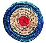 Herbertz 1010370810 - Diana de Paja (diámetro 65 cm, Cuchilla de 6 cm de Grosor), Multicolor, Talla única