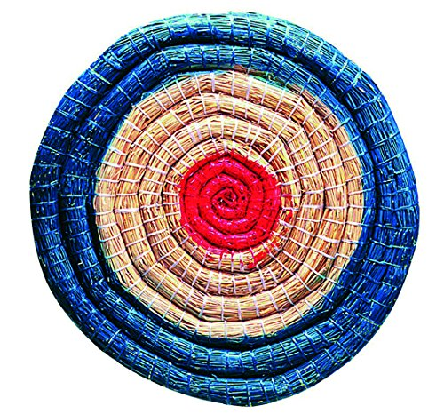 Herbertz 1010370810 Strohzielscheibe, Durchmesser 65 cm, 6 cm dick Messer, Mehrfarbig, One Size