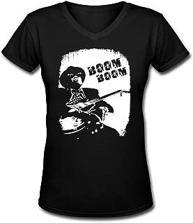 John Lee Hooker V Neck Lady Personalized Shirt Womens Graphic