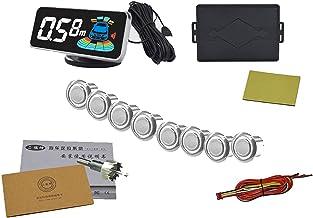 $56 » N\C Car Parking Sensor Kit Rear Reverse Backup Radar System 8 Sensors with Display Backup Reversing Sensors Universal Auto...
