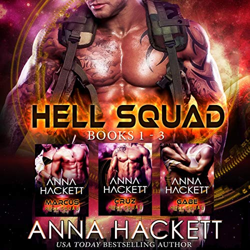 Page de couverture de Hell Squad Set: Books 1-3