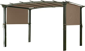 Garden Winds Universal Replacement Canopy Top Cover for Pergola Structures - SUNBRELLA