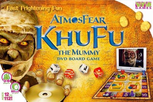 VIVID GAMES ATMOSFEAR KHUFU THE MUMMY GIOCO DA TAVOLO CON DVD