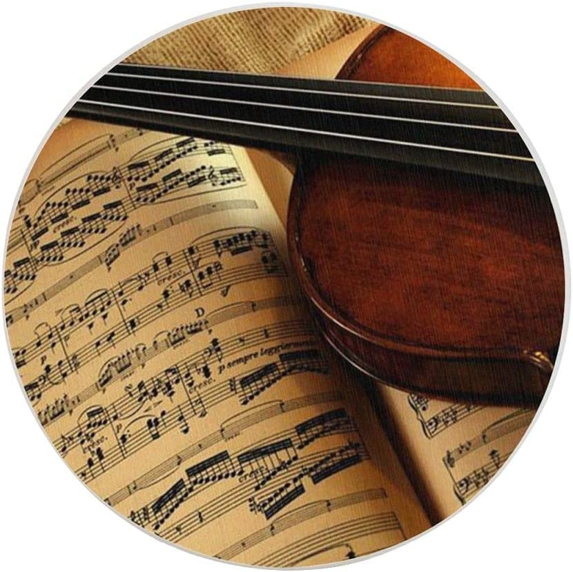 Musical Instruments Violin Coasters Drinks Moisture Quantity Finally resale start limited Absorbin for