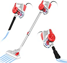 INSE Vacuum Cleaner, Corded Stick Vacuum, Handheld Vacuum, Powerful Suction 18KPa 600W, with HEPA Filter, Lightweight for ...