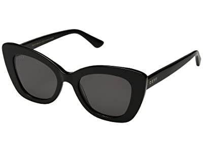 DIFF Eyewear Raven (Black/Grey) Fashion Sunglasses