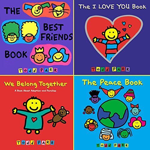 Todd Parr's Friendship Bundle audiobook cover art