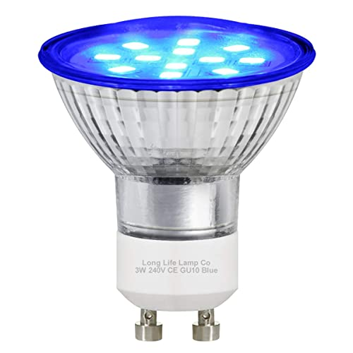 3w Blue GU10 LED Colour Light Bulb