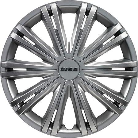 Rau 56012 Radzierblende Radkappe Spark Passend Für Alle Gängigen 16 Zoll Stahlfelgen Silber 4 Er Set Auto