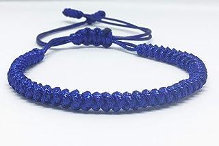 Pulsera tibetana individual Azul Marino