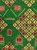 Roya Textile Premium Baumwoll-Druckstoff – afrikanische
